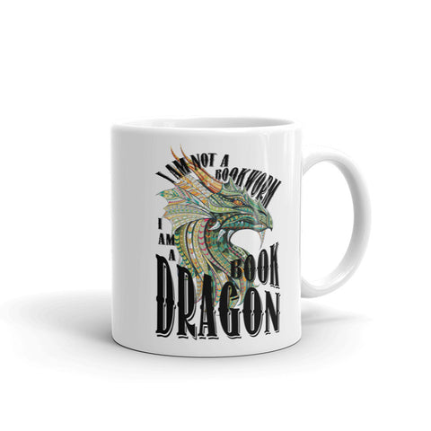 I'm Not A Bookworm - I'm A Book Dragon Coffee Mug
