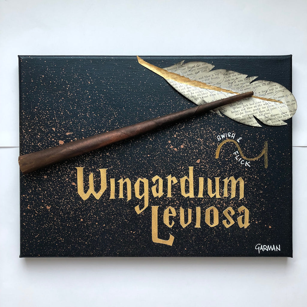Harry Potter Wingardium Leviosa Canvas