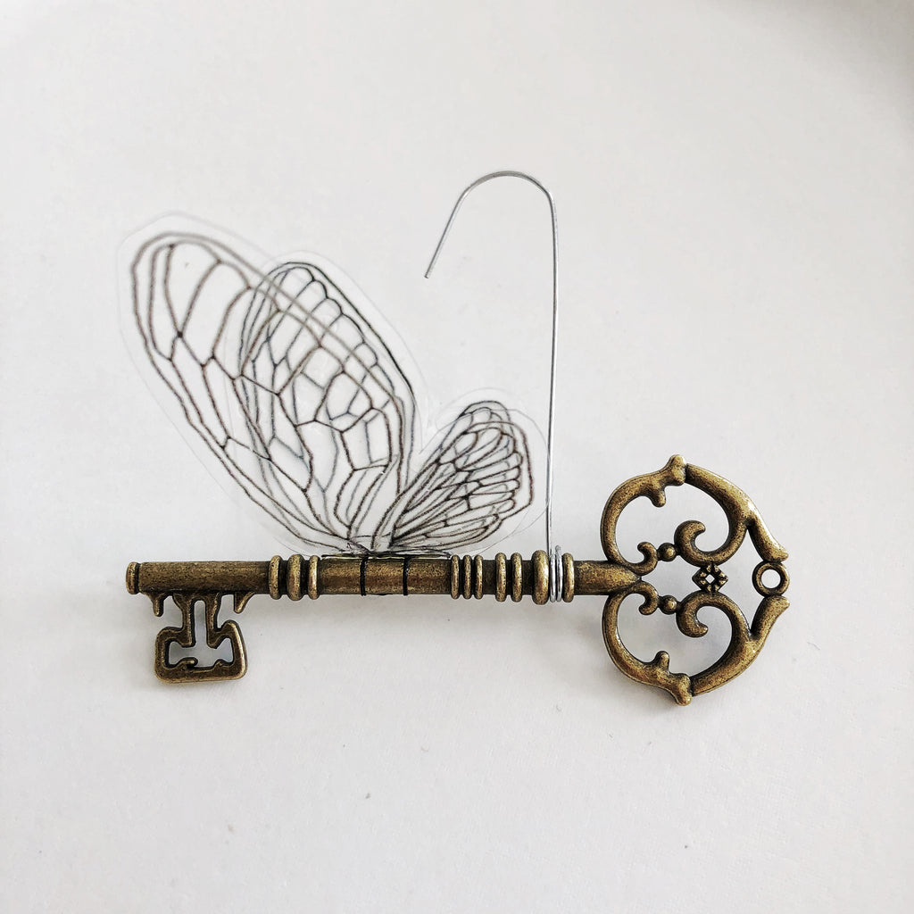Harry Potter Flying Key Ornament