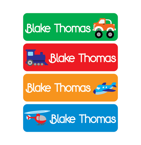 Waterproof Labels - Transportation - MeY Decals