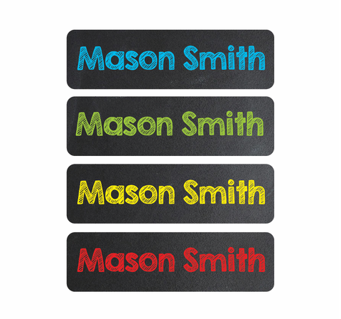 Waterproof Labels - Chalkboard - MeY Decals