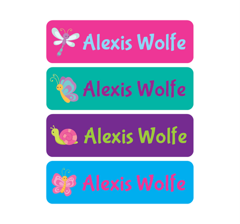 Waterproof Labels - Insects - MeY Decals
