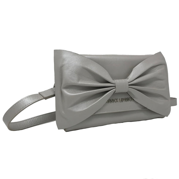 scarlett en cuir mother of pearl biais