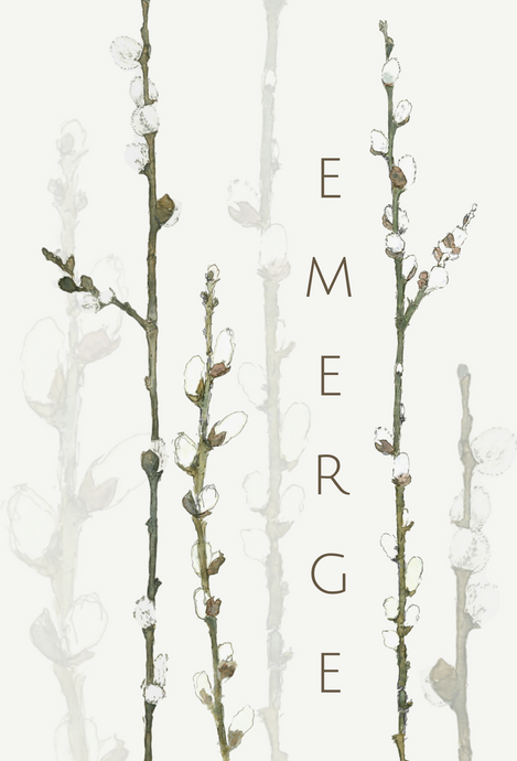 Emerge greeting card