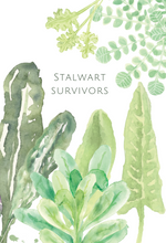 Stalwart Survivors greeting card