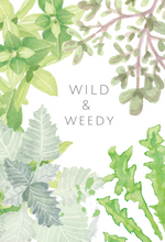 Wild & Weedy greeting card