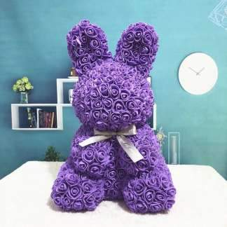 Flower Purple Bunny