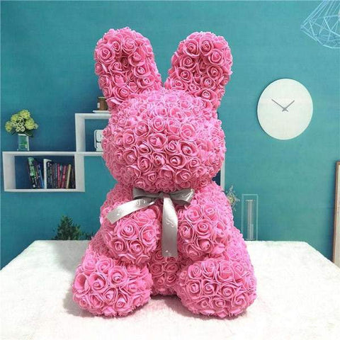 Flower Pink Bunny