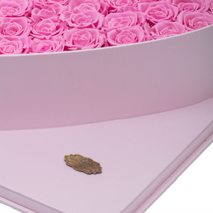 Pink Preserved Roses | Luxury Pink Romantic Love Box