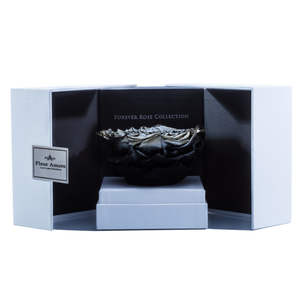 Silver Mega Preserved Rose | Swing Opening Box