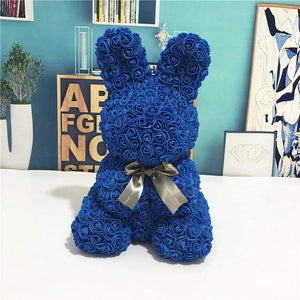 Everlasting Bunny Royal Blue Rose
