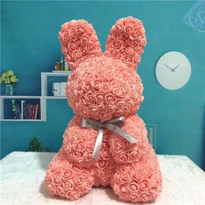 Everlasting Bunny Coral Rose