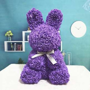 Everlasting Bunny Purple Rose
