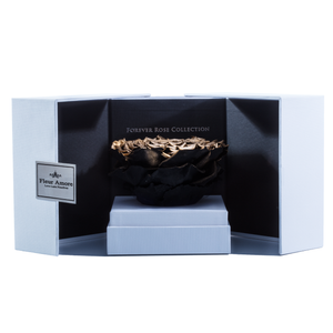 Gold Mega Preserved Rose | Swing Opening Box