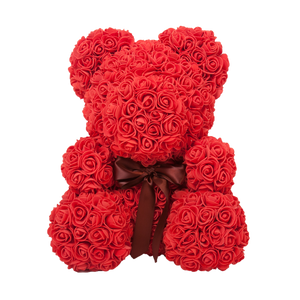 The Original Rose Bear 40cm Tall