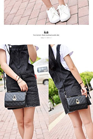 Shoulder Bag(Black)