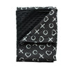 Stroller Blanket- Black OX