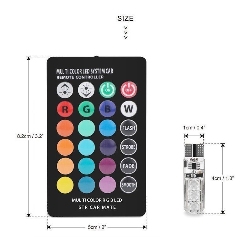 RGB led- Remote controlled