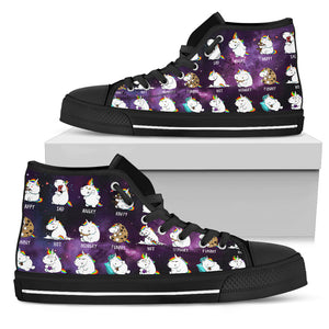 Unicorn Hightop Shoes
