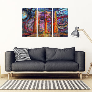 Brooklyn Art Canvas 3 Pieces M455