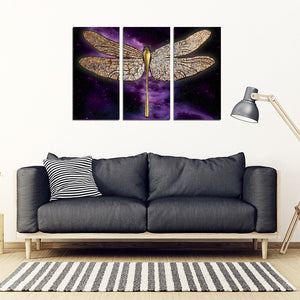 Dragonfly Canvas 3 Pieces