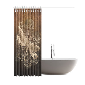 Dragonfly Shower Curtain M465