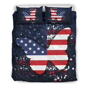 Butterfly July 4 Bedding Set M3076