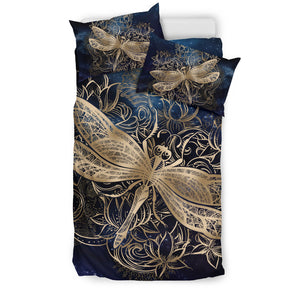 Dragonfly Zen Blue Bedding M3019