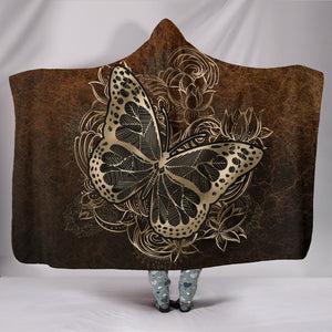 Butterfly Hooded Blanket M462