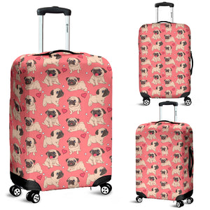 Pug Luggage Covers