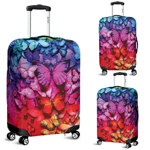 Butterfly Luggage Cover