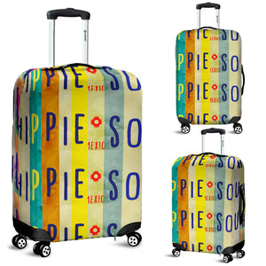 Hippie Soul Luggage Cover M1905