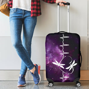 Dragonfly Luggage Cover
