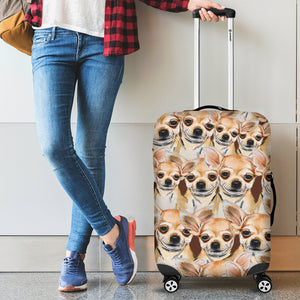 Chihuahua Luggage Cover