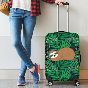 Sloth Luggage Cover