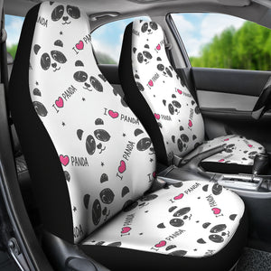 Panda Car Seat Covers
