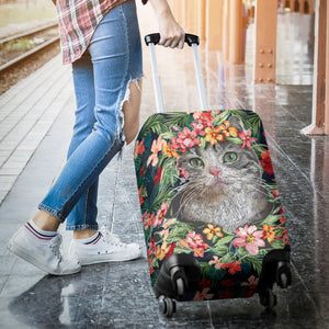 Cat Hawaii Luggage Covers M791
