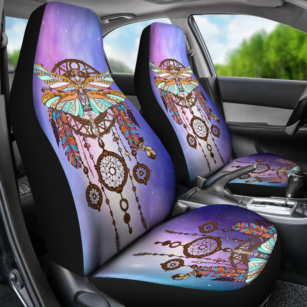 DragonflyDC Purple Car Seat Cover M3003