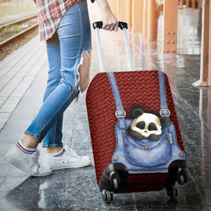 Panda Luggage Cover