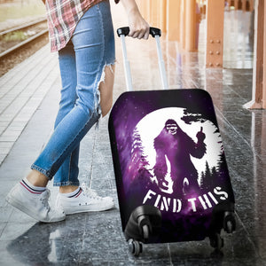 Bigfoot Luggage Cover