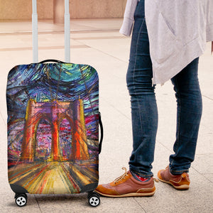 Brooklyn Art Luggage Cover M455