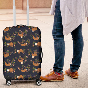 Sloth Luggage Cover V001