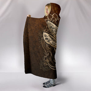 Dragonfly Hooded Blanket M465