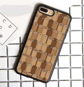 Sloth Pattern Collage Printed Phone Case For iPhone