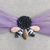 Embellished Hair Scarf - Lilac - 01