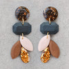 Duchess Dangle Earrings - Espresso