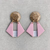 Origami Dangle - Blush