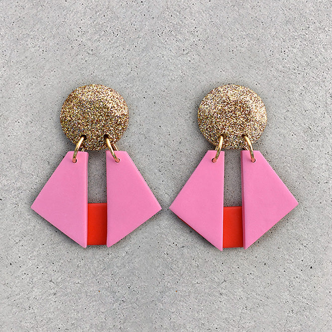 Origami Dangle - Bubblegum