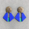 Origami Dangle - Cobalt