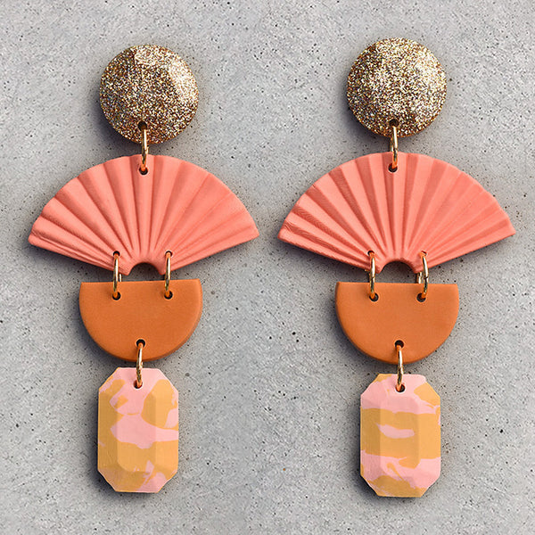 Palm Dangle - Cantaloupe